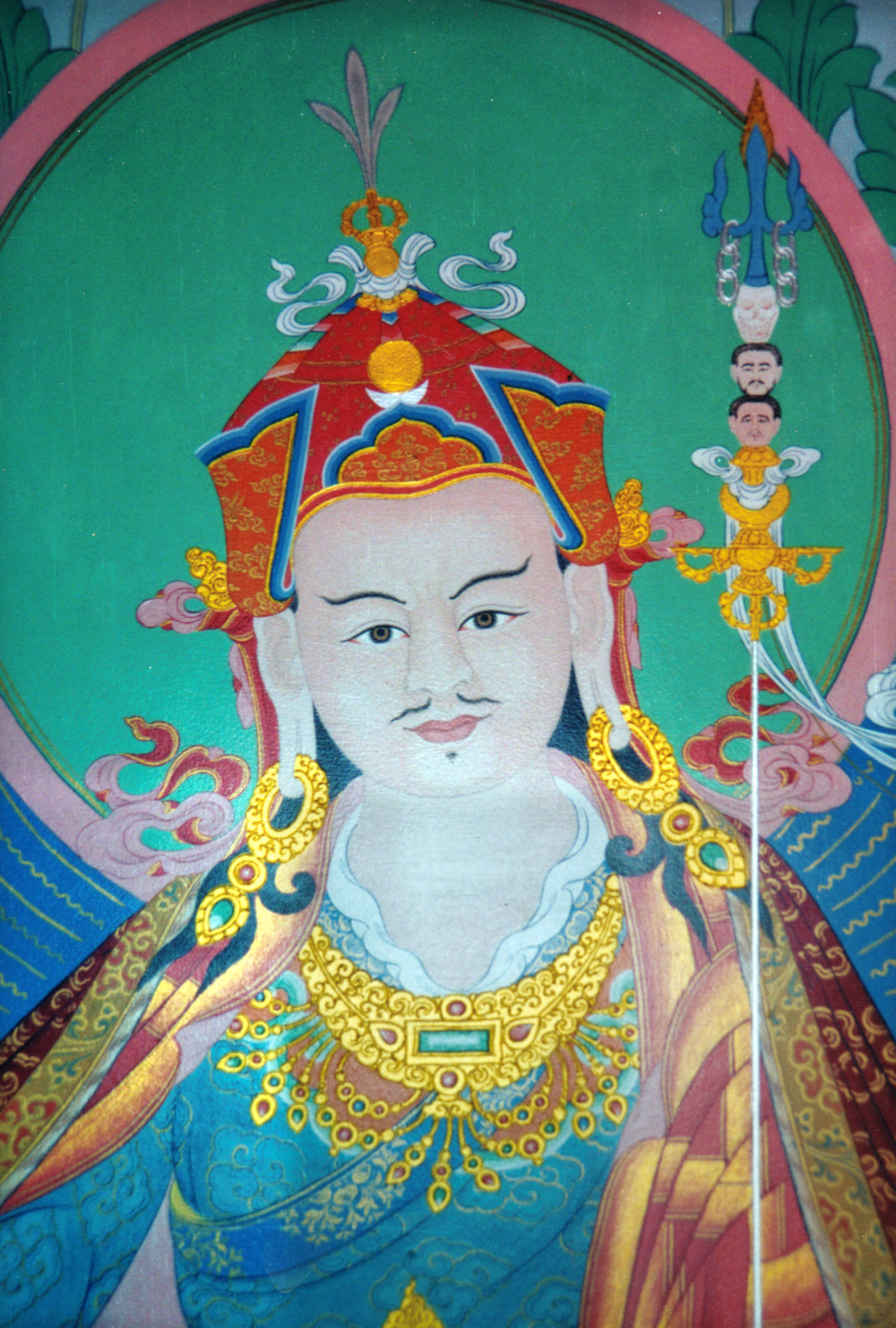 Guru Rinpoche by Lama Sonam Tashi Choling