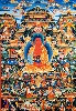 Buddha Amitaba Pureland mobile