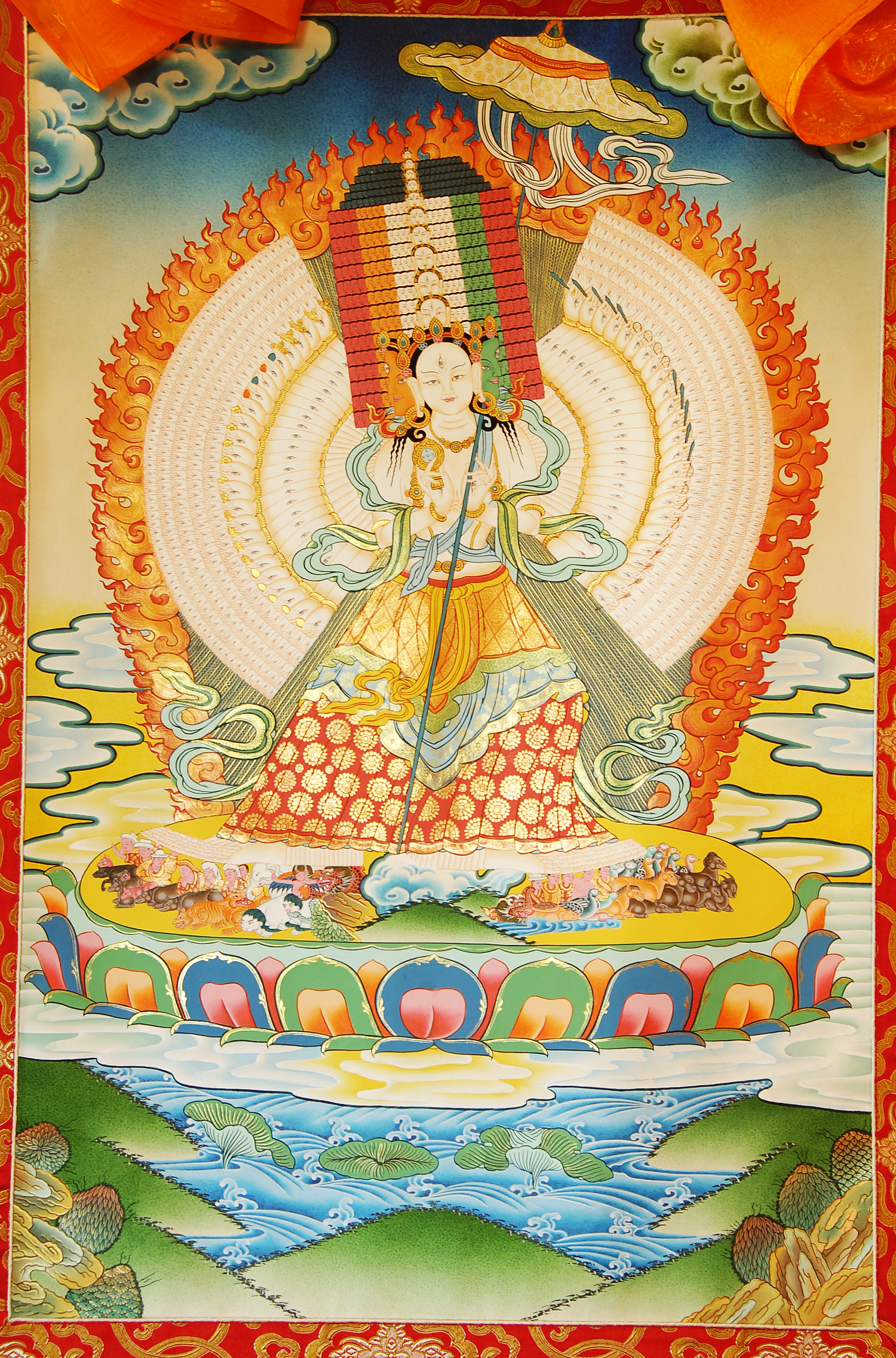 White Umbrella Buddha