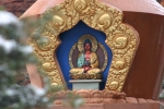 Amitabha Stupa Close Up
