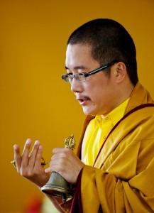 His Holiness Karma Kuchen Rinpoche