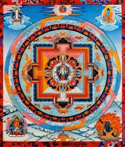 1000 Armed Chenrezig Mandala