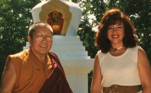 HH Penor Rinpoche & Jetsunma Ahkon Lhamo