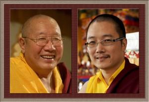 HH Penor Rinpoche & HH Karma Kuchen Rinpoche