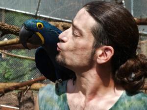 Rigzin Zeoli of the Garuda Aviary www.garudaaviary.org