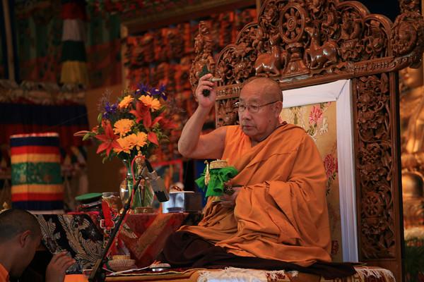 HH Penor Rinpoche Bumpa