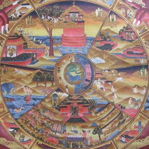 Tibetan Buddhism Wheel Of Life 06 00 Six Realms